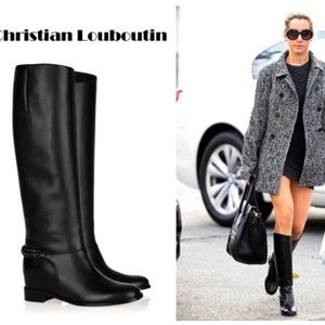 Christian Louboutin Cate Chain-Embellished Boots cheap sale exclusive y8J7mBP